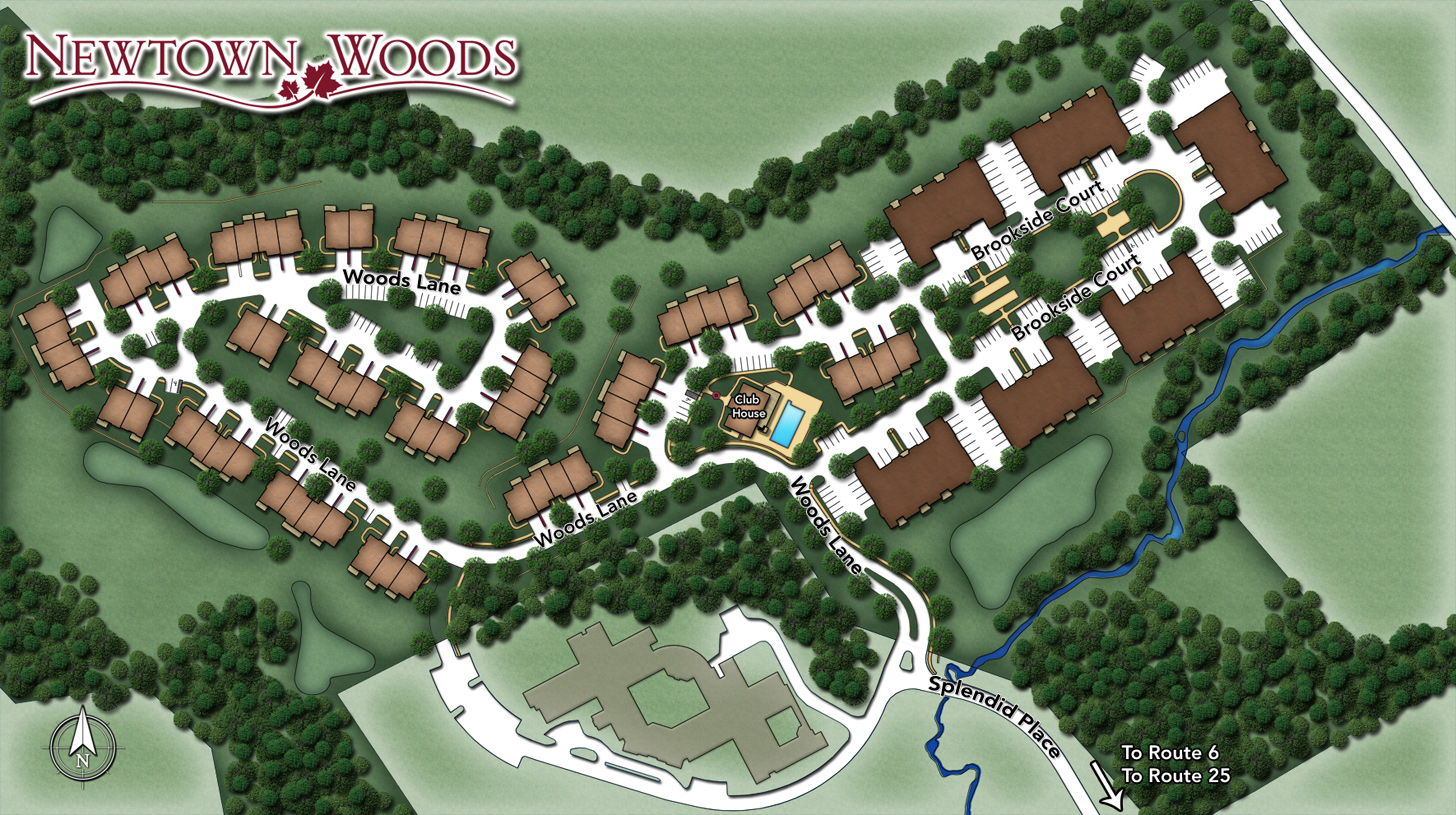 Newtown Woods Overall Site Plan