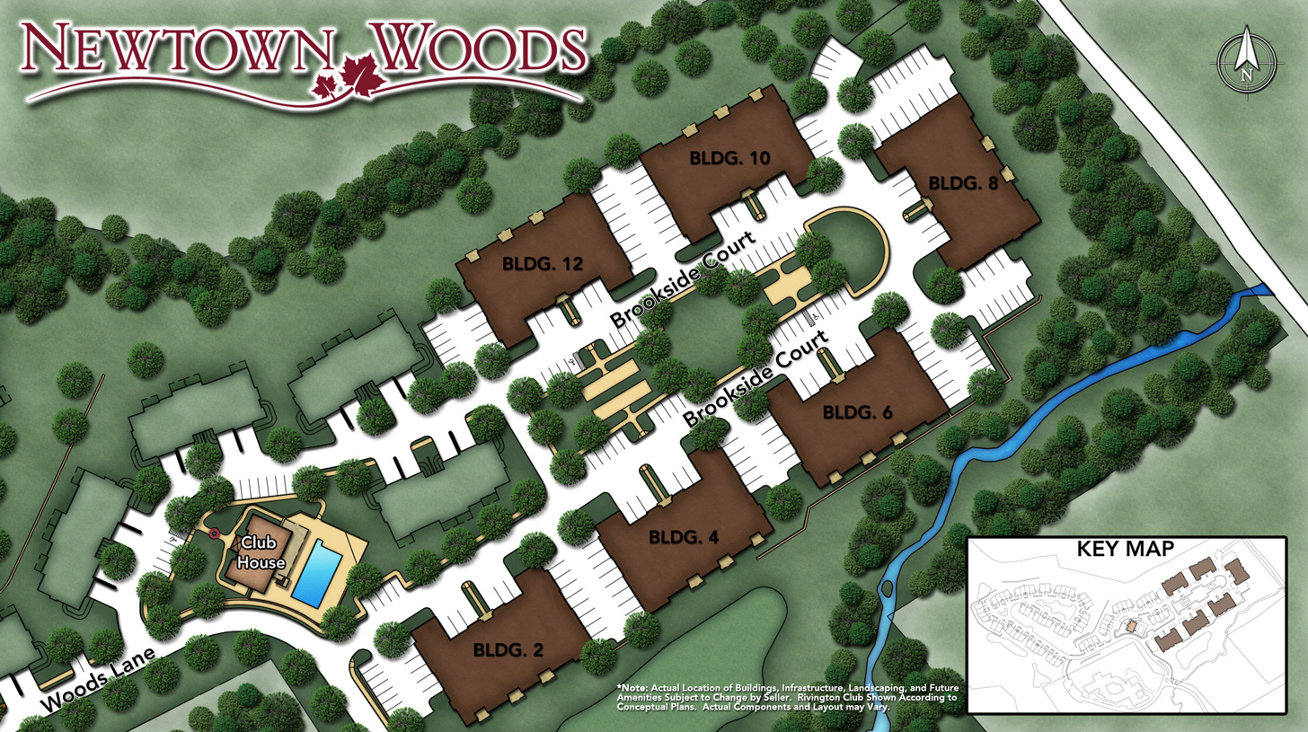 Newtown Woods - Regency Collection Site Plan I
