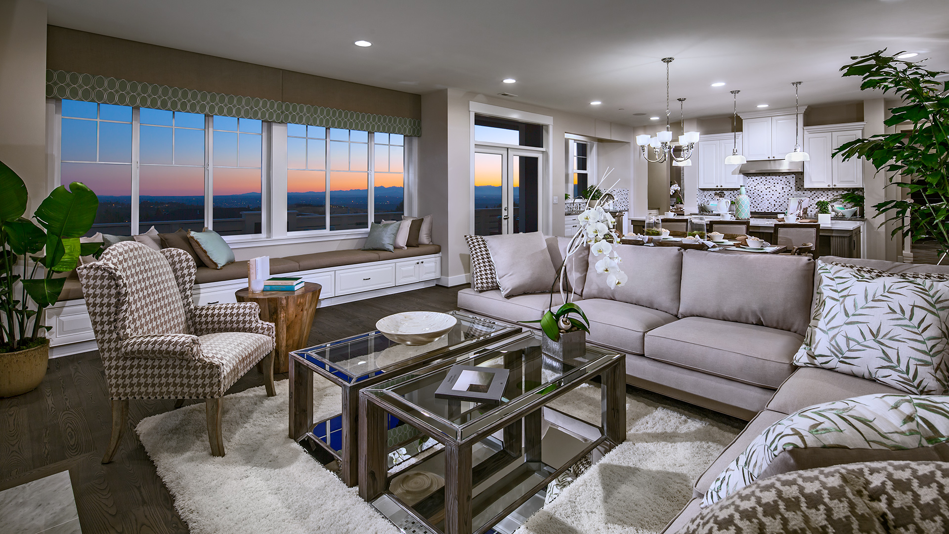 The Ious Great Room Of Elinor Home Design Leads To Oversized Balcony Ideal For Taking In Sweeping Views