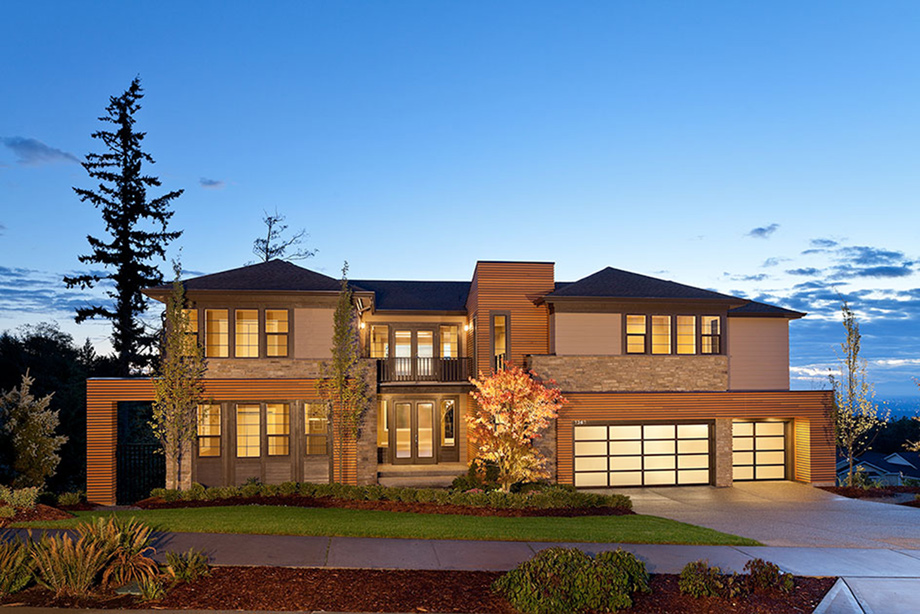 This stunning Northwest Contemporary McCartney home has a spacious floor plan and breathtaking views.