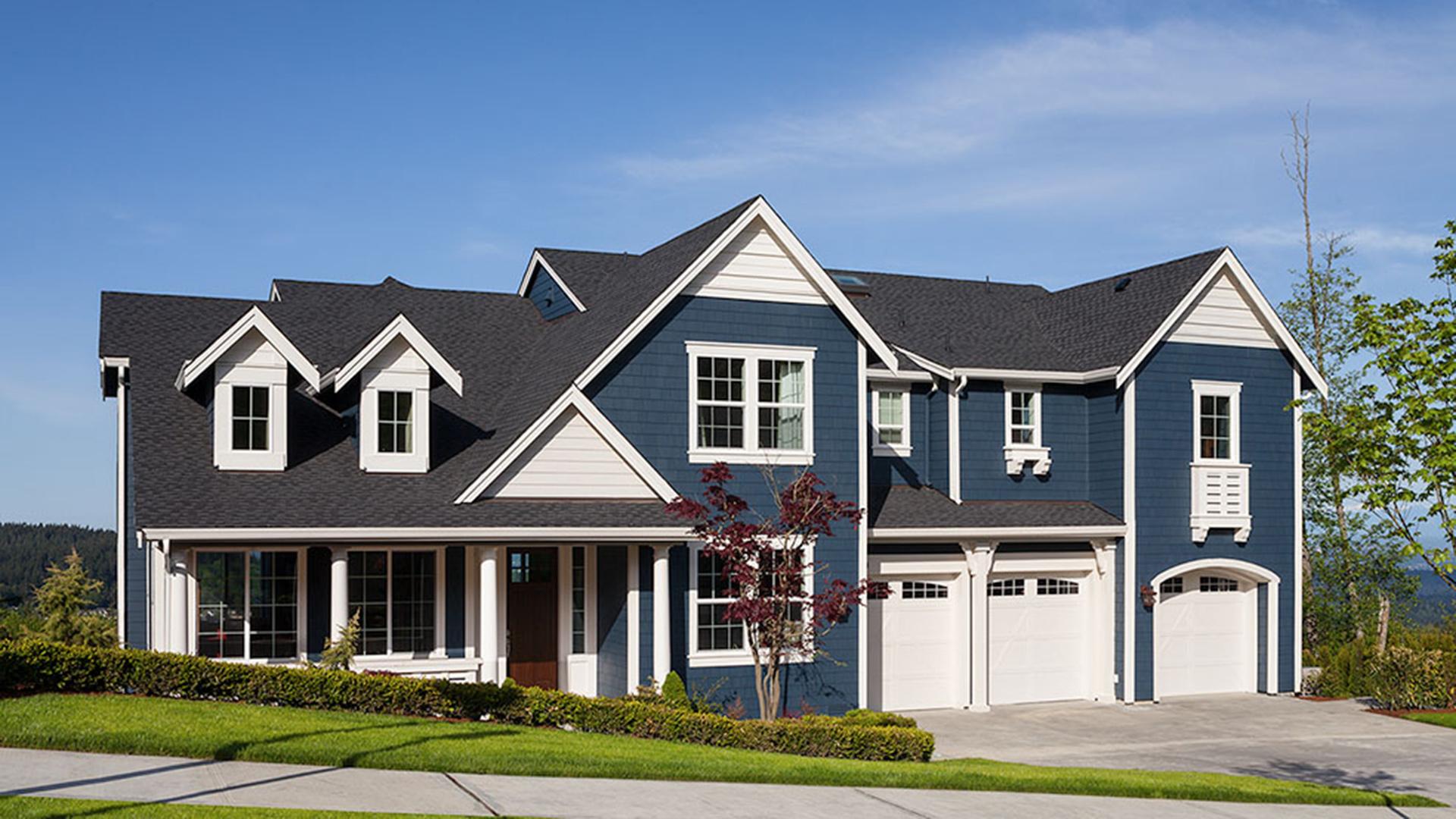 The Putvin home design has a charming