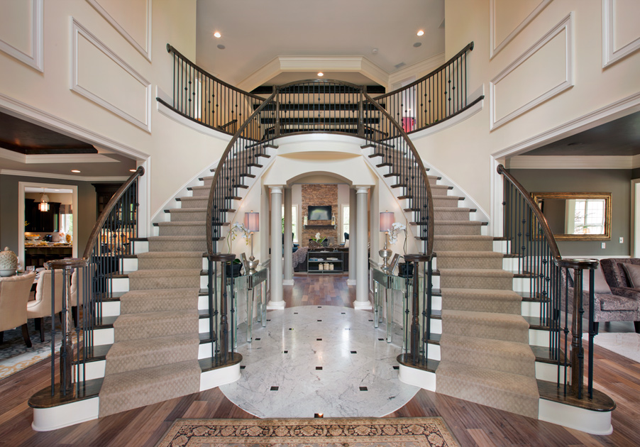 Foyer Stairs For Sale : New luxury homes for sale in weddington nc bromley