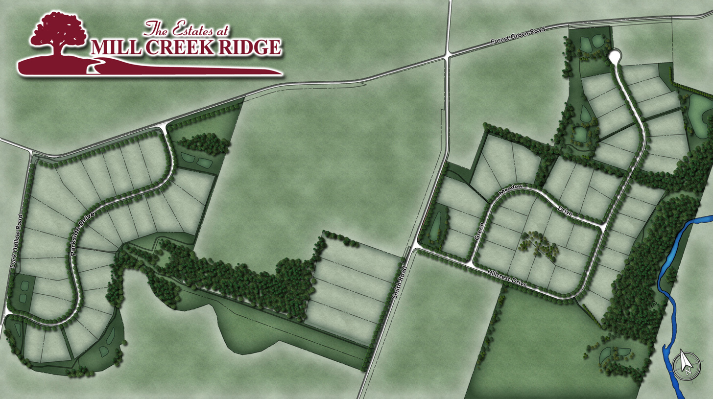 The Estates at Mill Creek Ridge Overall Site Plan
