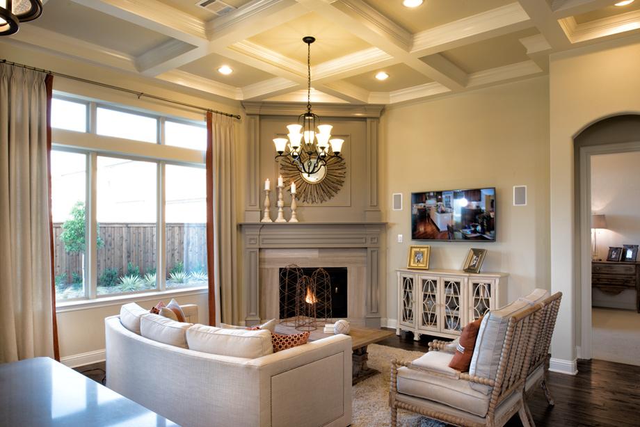 New luxury homes for sale in plano tx west park villas for Living room nottingham