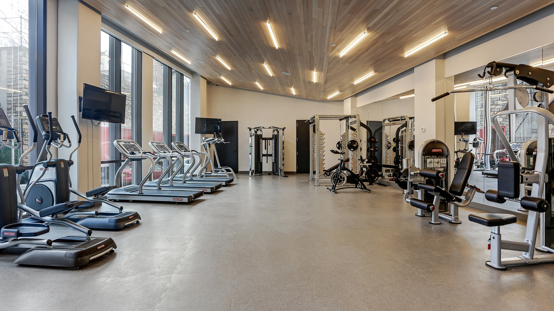Fitness Center Construction : Condos for sale in brooklyn pierhouse at bridge
