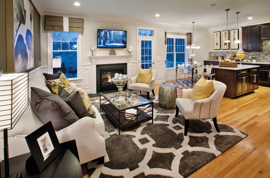 Danbury Ct Townhomes For Sale Rivington By Toll Brothers The Ridge Collection