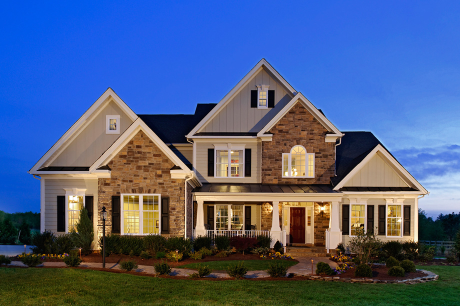 Toll Brothers Model Homes Interior And Exterior Home Design On