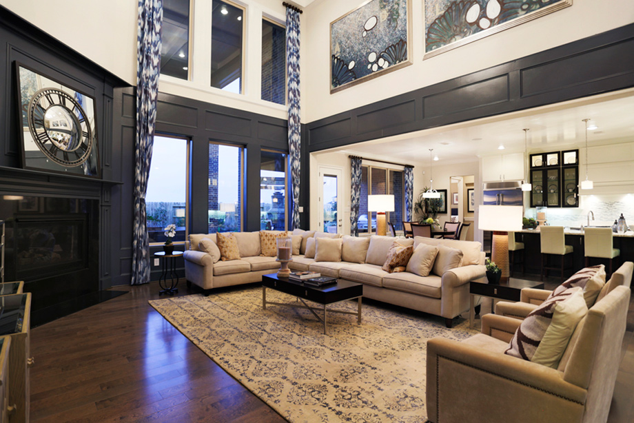 Model Home Furniture Katy Tx Katy Tx New Homes For Sale  Cinco Ranch  Ironwood Estates