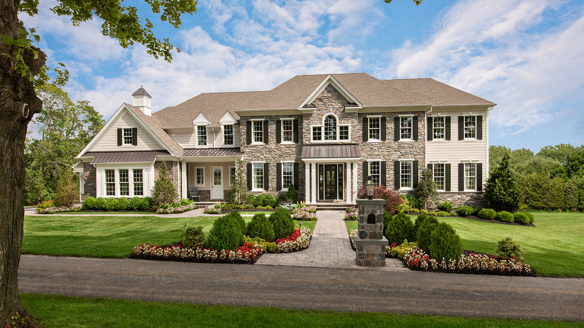 New luxury homes for sale in newtown square pa liseter for Luxury home collection