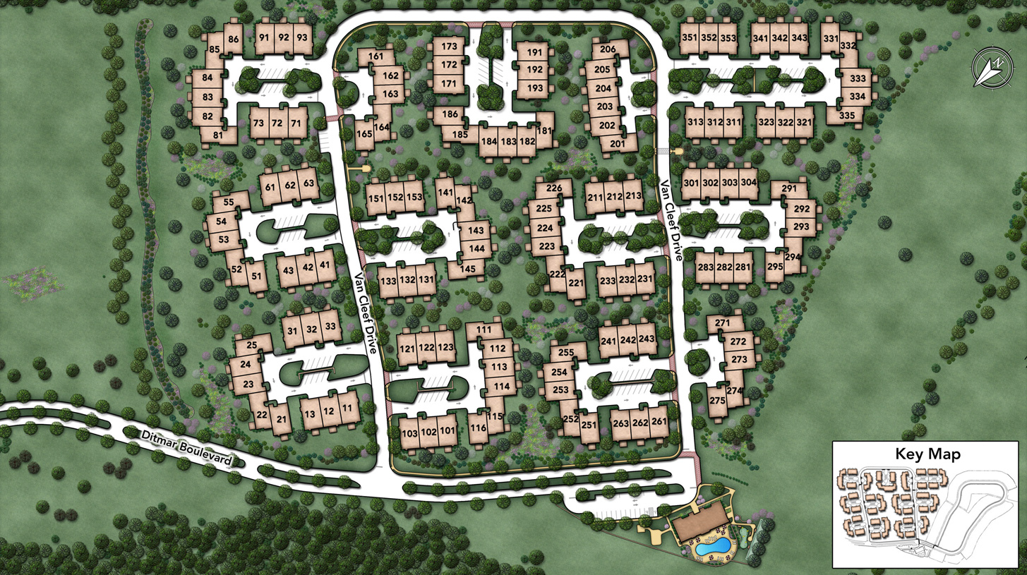 Regency at Readington Overall Site Plan