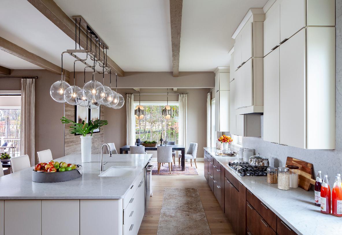 Reston kitchen and breakfast area