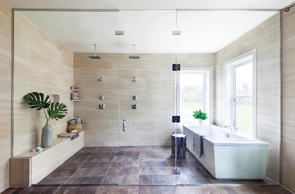 Reston primary bath