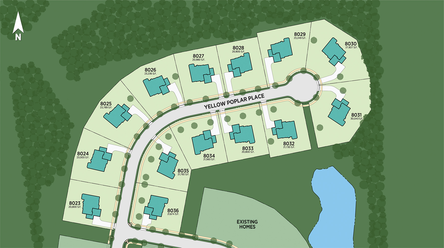Lenah Mill - The Estates Site Plan