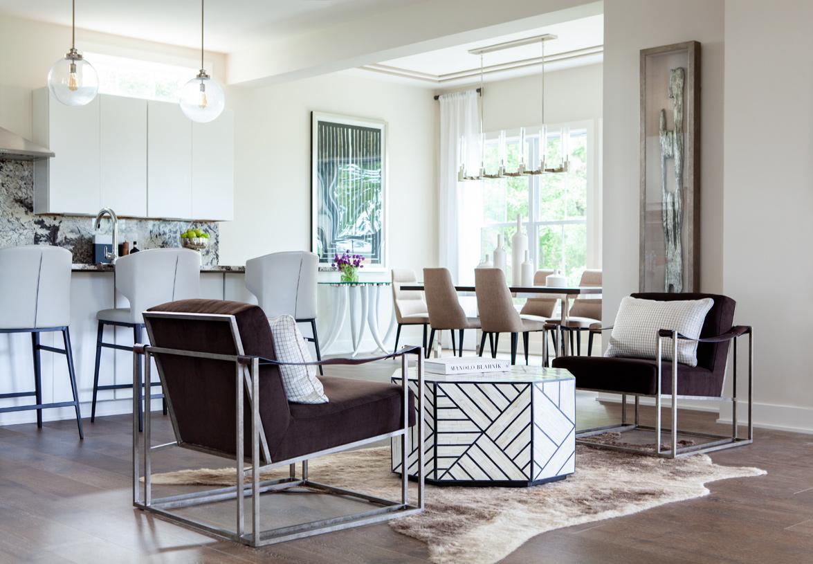 Modern open-concept home designs
