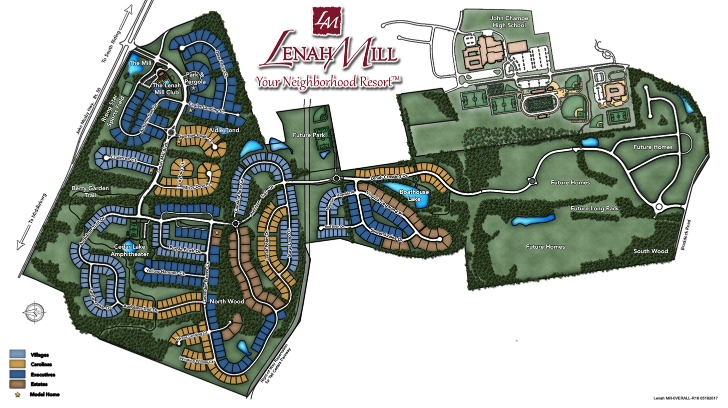Lenah Mill Overall Site Plan