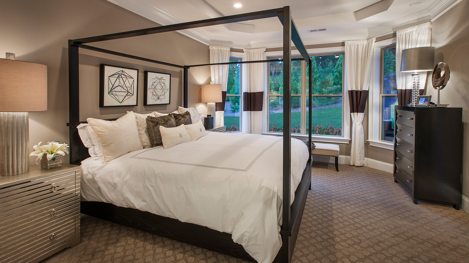 The Waverly primary bedroom suite