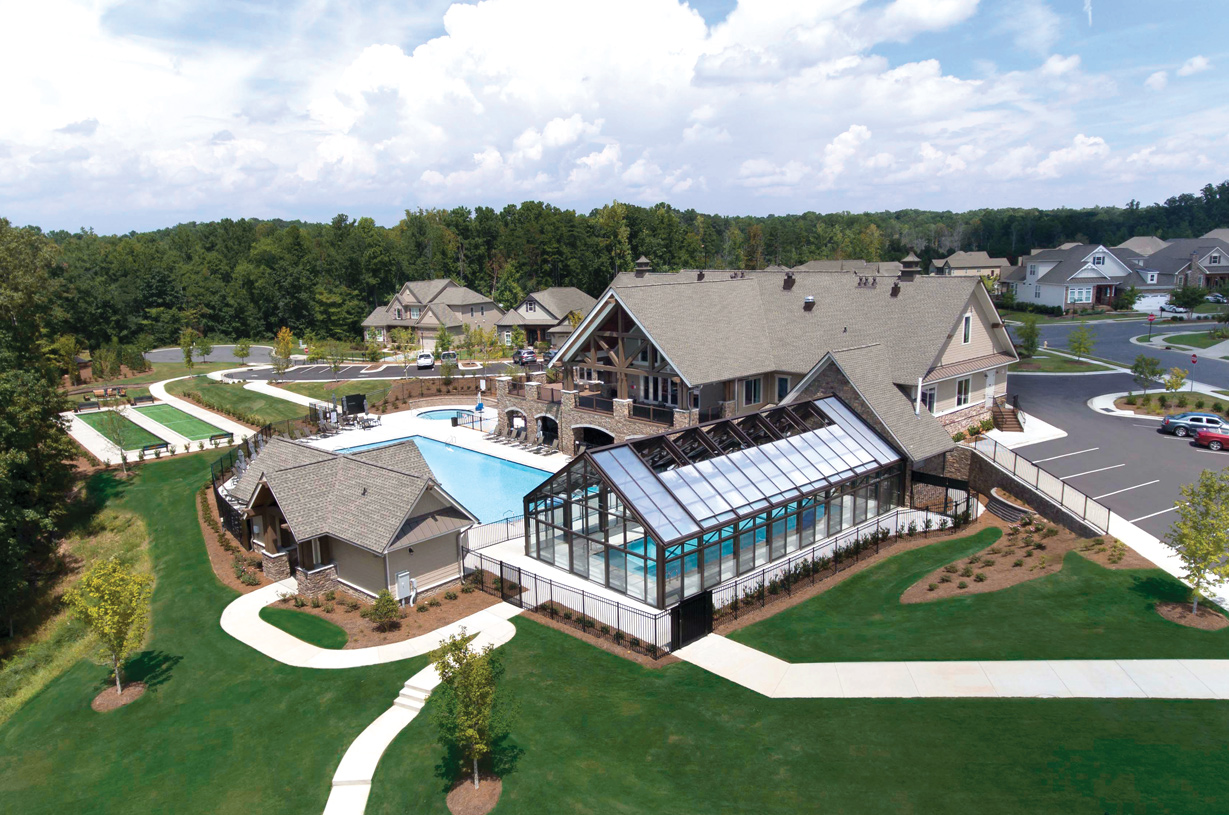 Amazing lakeside clubhouse having everything you need