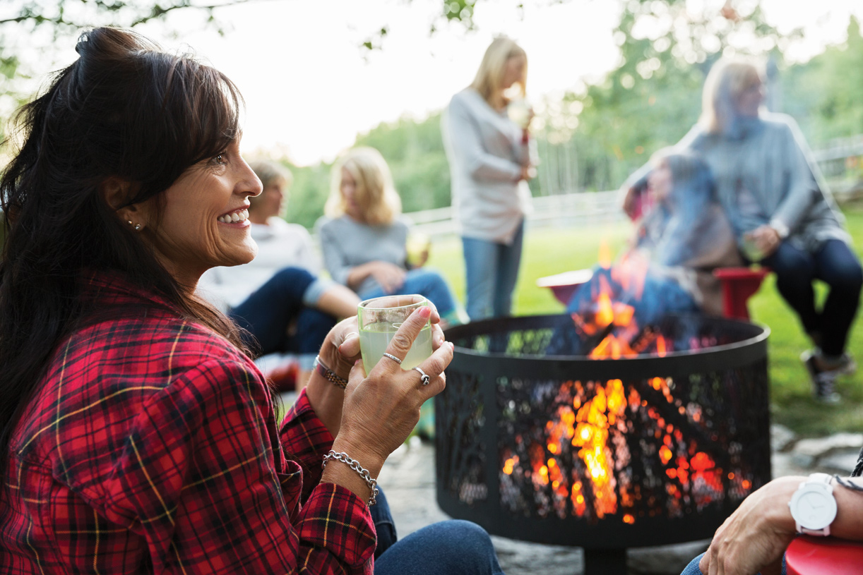 Create your own outdoor haven just outside your backdoor to enjoy with friends and family