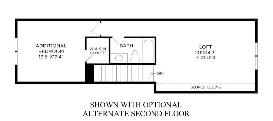 Optional Alternate Second Floor