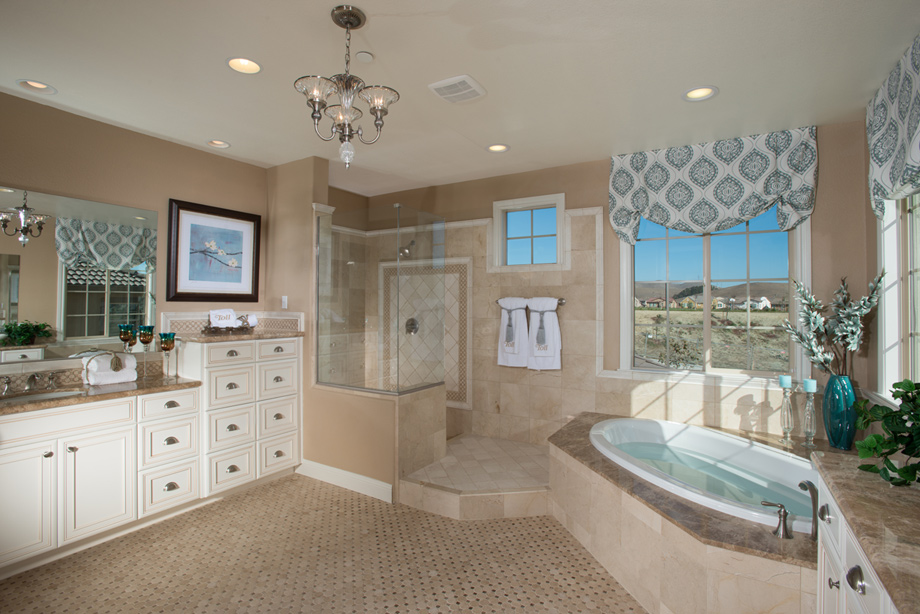 New luxury homes for sale in dublin ca schaefer ranch for Ranch bathroom design