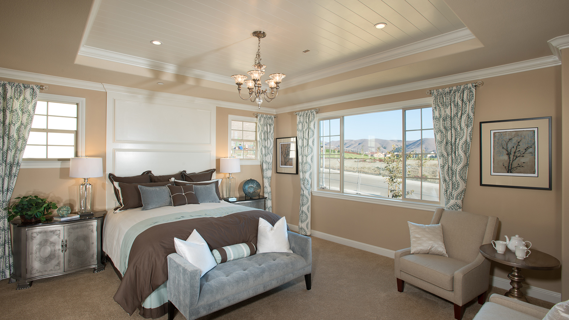 New luxury homes for sale in dublin ca schaefer ranch for Dual master bedroom