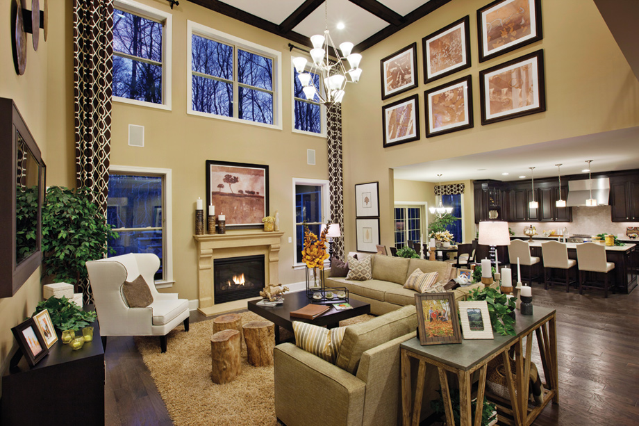 Marvin nc new homes for sale preserve at marvin - How to decorate a family room ...