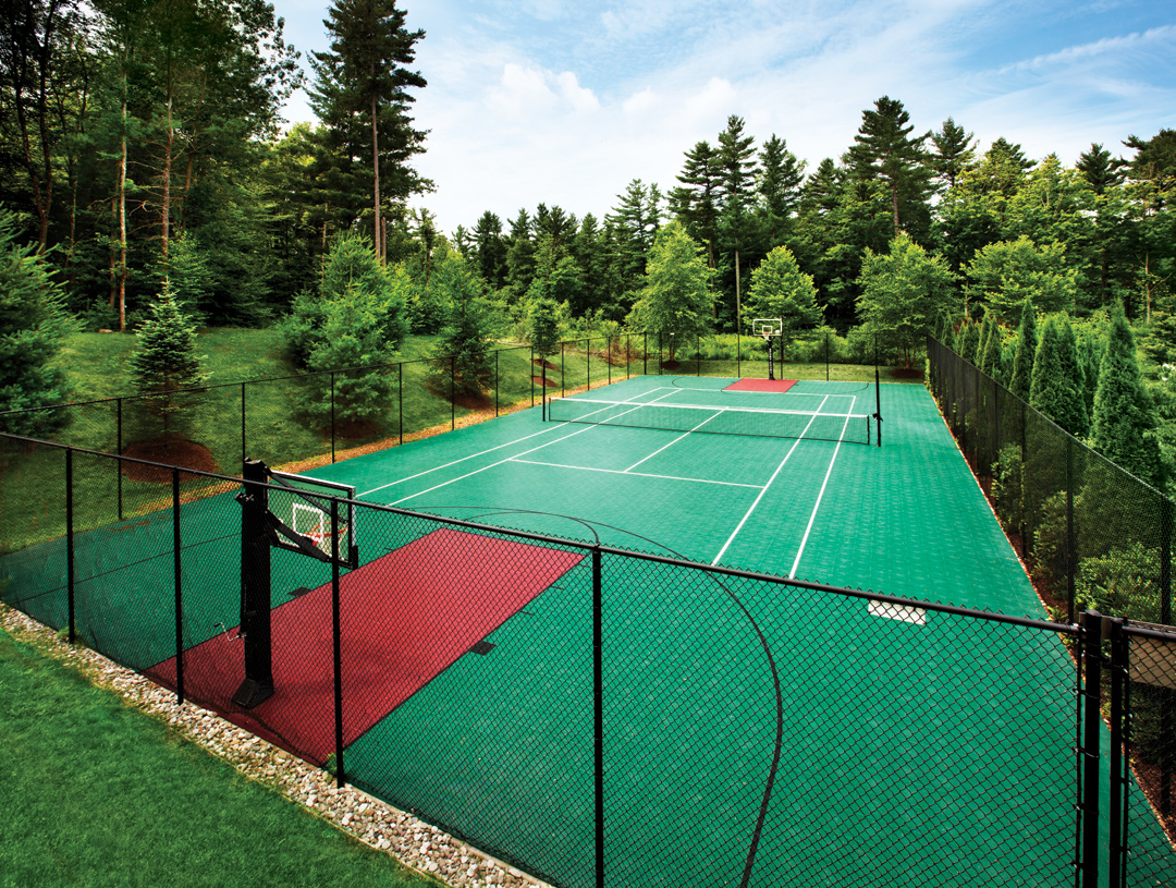 Tennis and all purpose court