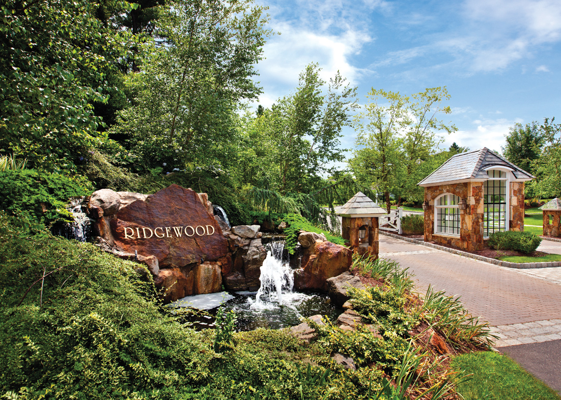 Beautiful landscaped and wooded community