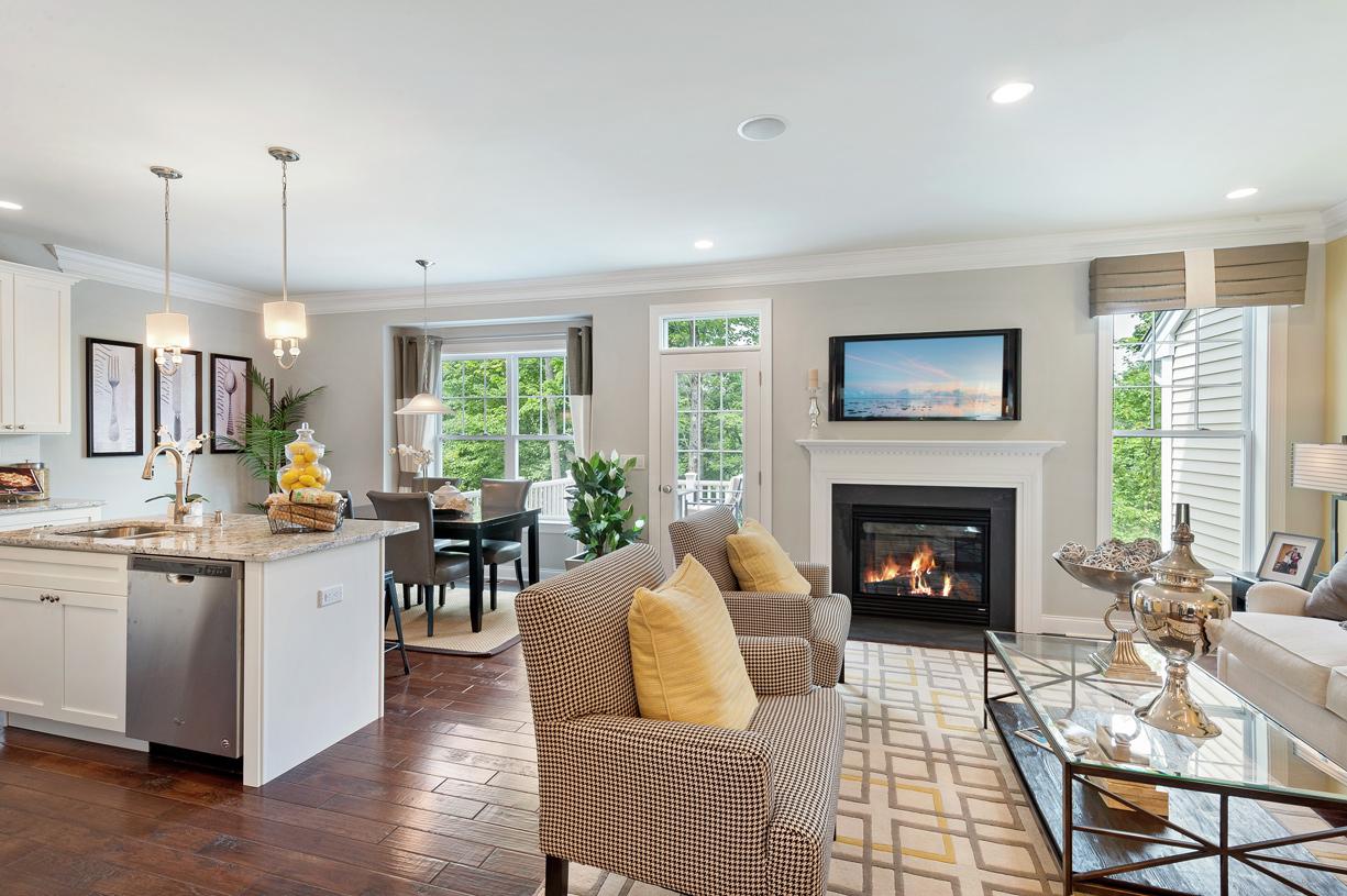Portman open-concept floor plan - Perfect for entertaining