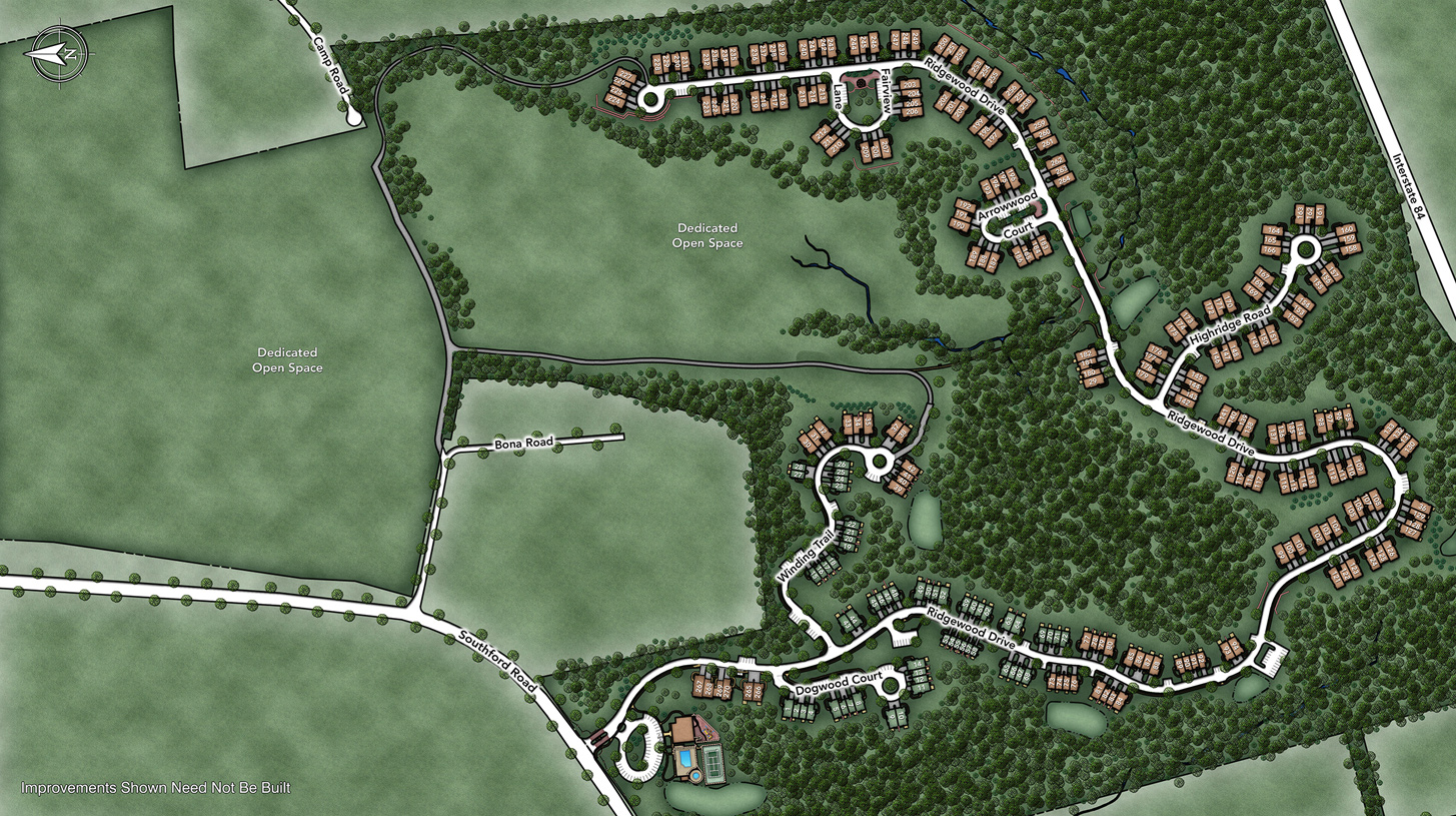 Ridgewood at Middlebury Overall Site Plan