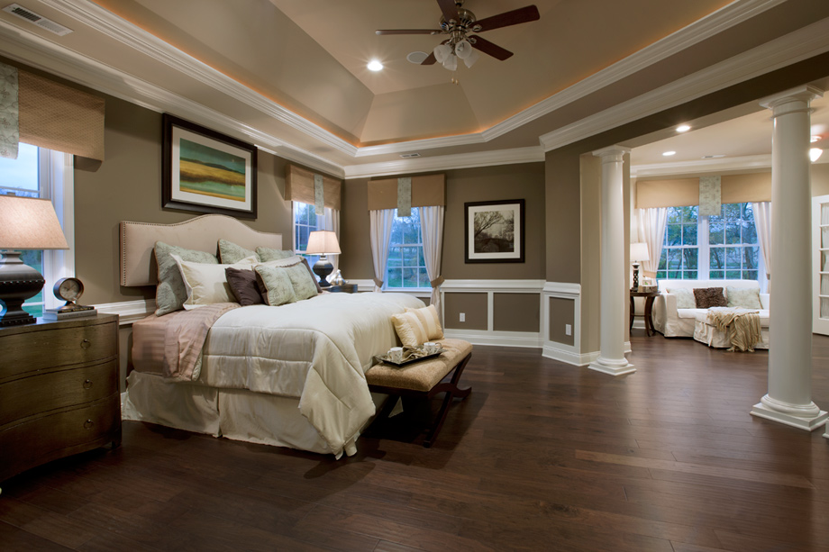 Liseter the merion collection luxury new homes in for Master bedroom suite