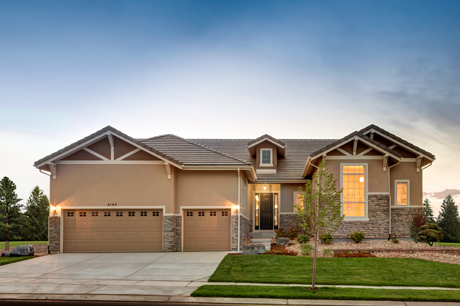 Colorado homes for sale 16 new home communities toll for Building a house in colorado