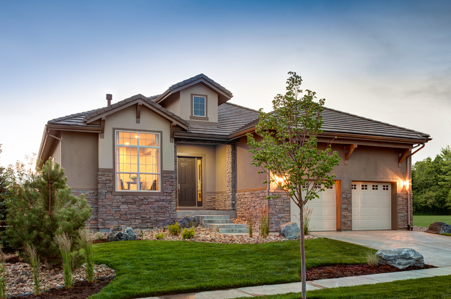 Colorado new homes for sale in toll brothers luxury for Executive ranch homes