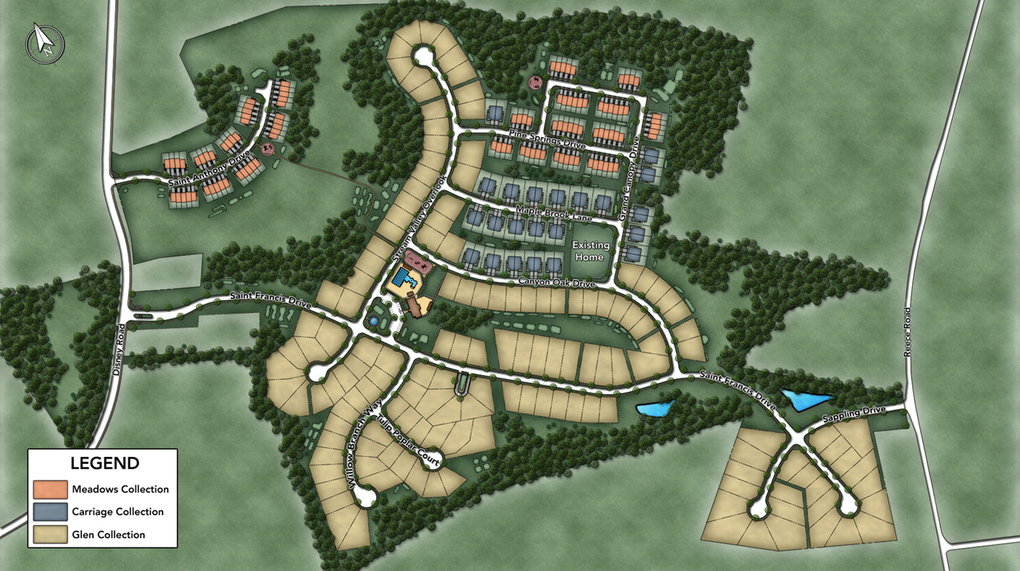 Arundel Forest - The Glen Overall Site Plan