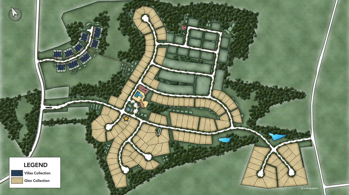 Arundel Forest Overall Site Plan