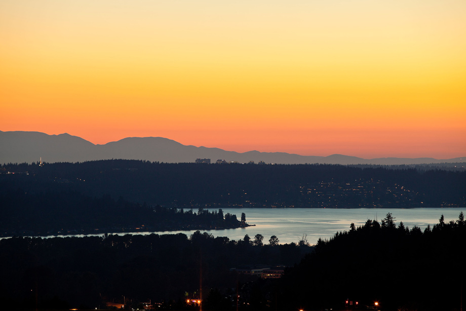Enjoy beautiful sunsets and lake and mountain views from your new home at Pinecrest.