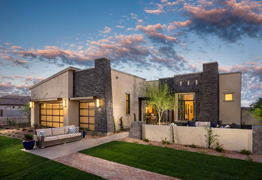 Gilbert az new homes for sale calliandra estates for Modern homes arizona