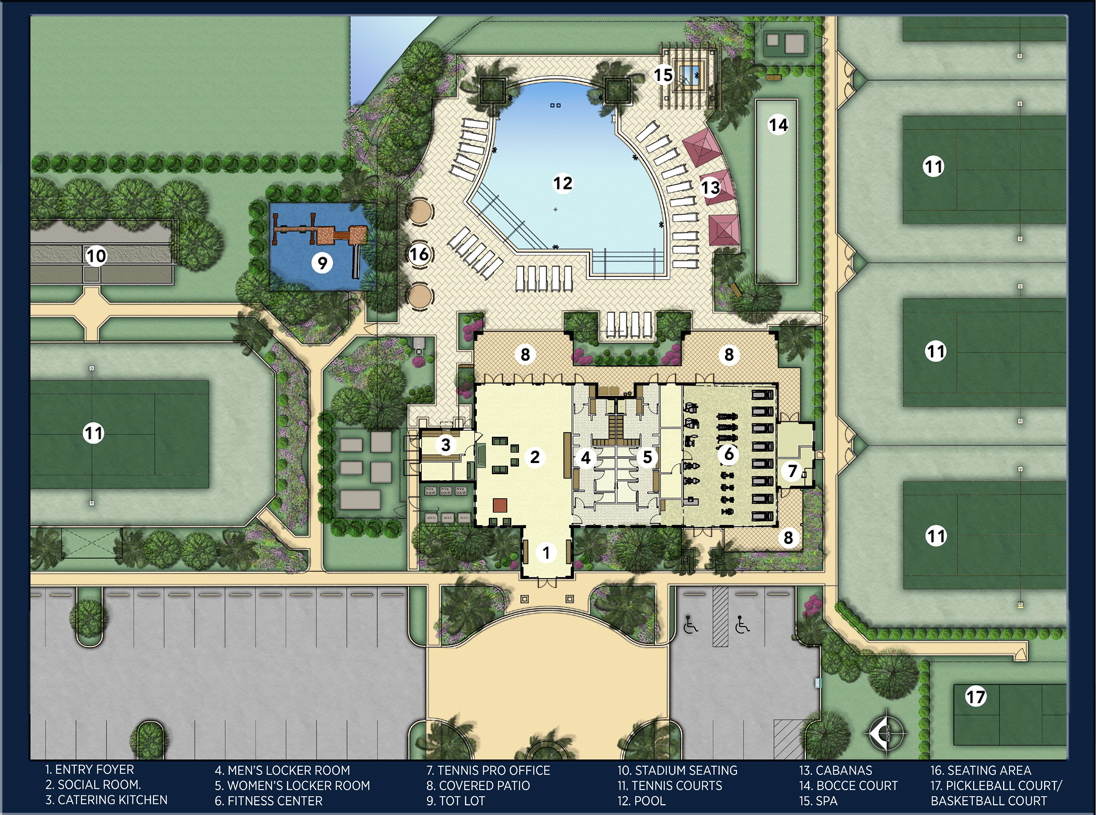 Boca raton fl new homes for sale royal palm polo for Home site plan