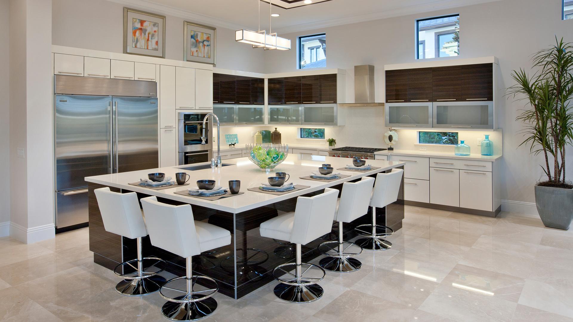 Villa Lago kitchen