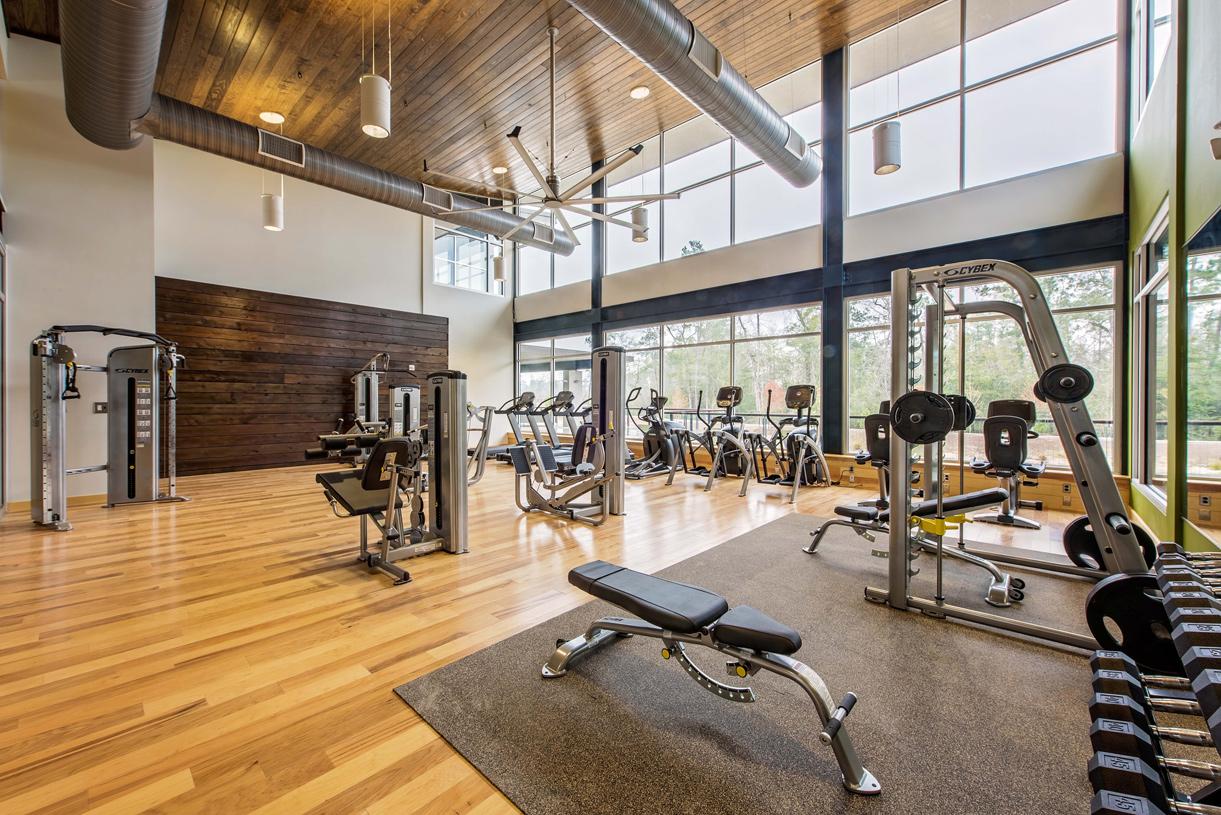 Onsite 24-hour fitness center