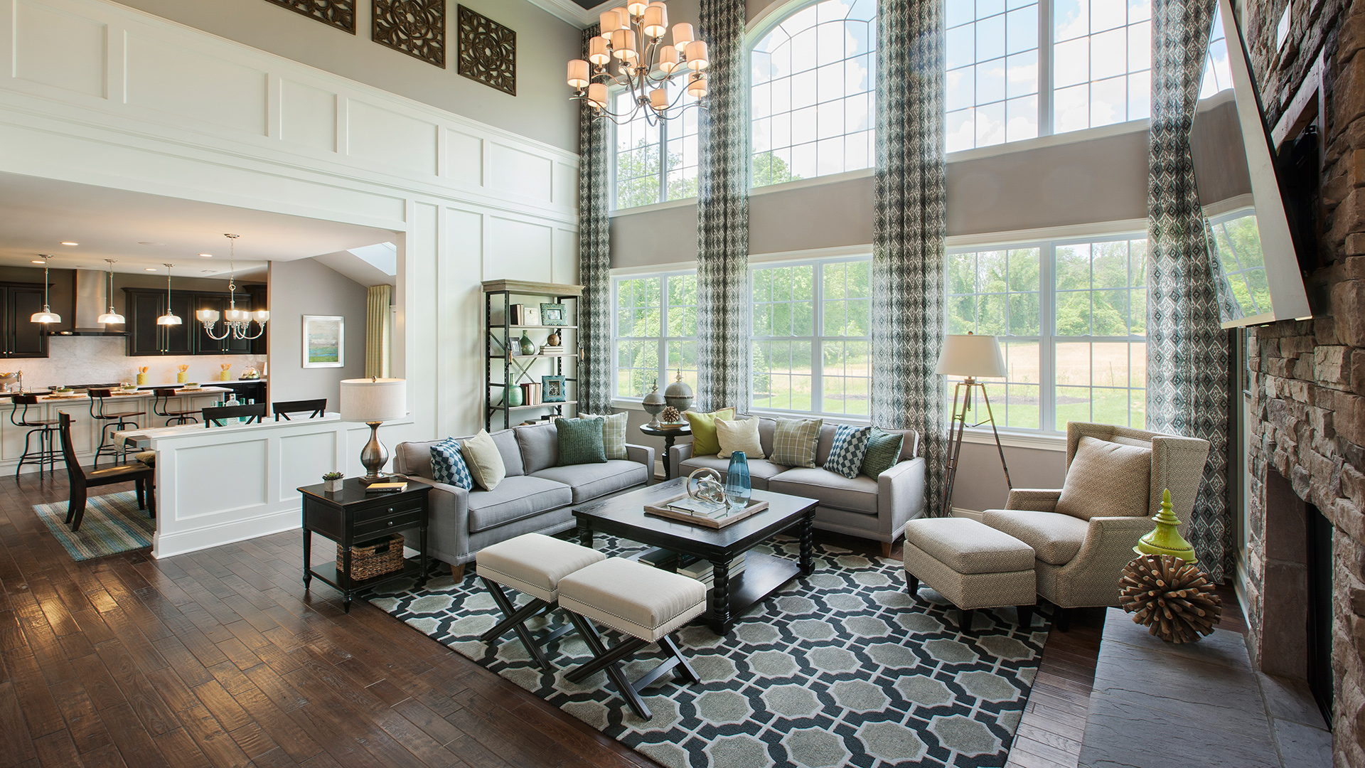 The Hopewell Classic Expanded Family Room