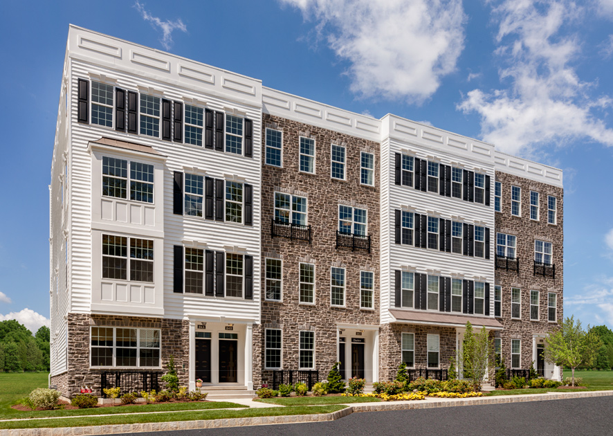 Toll Brothers - Ravenscliff at Media - Stacked Townhomes Photo