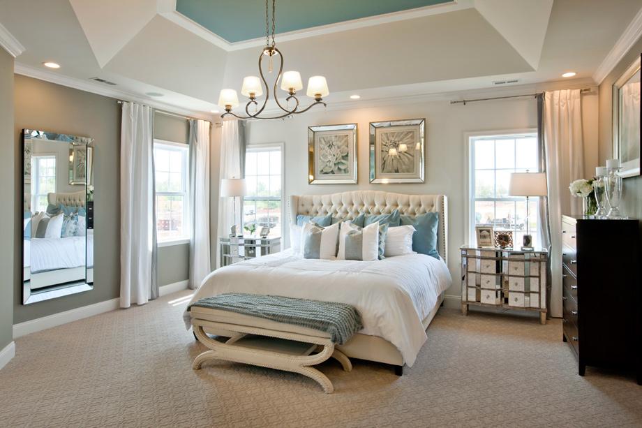 New luxury homes for sale in harleysville pa reserve at for Model bedroom interior design