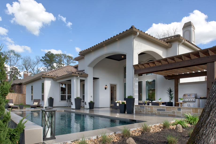Peyton Mission Pool And Patio   The Woodlands   Creekside Park   Coronet  Ridge