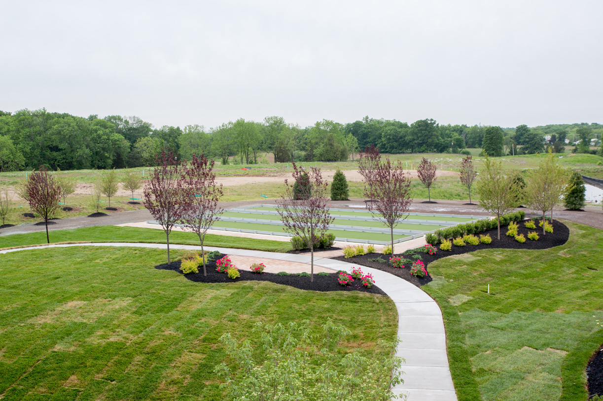Gather friends and hold a bocce tournament at the community bocce courts