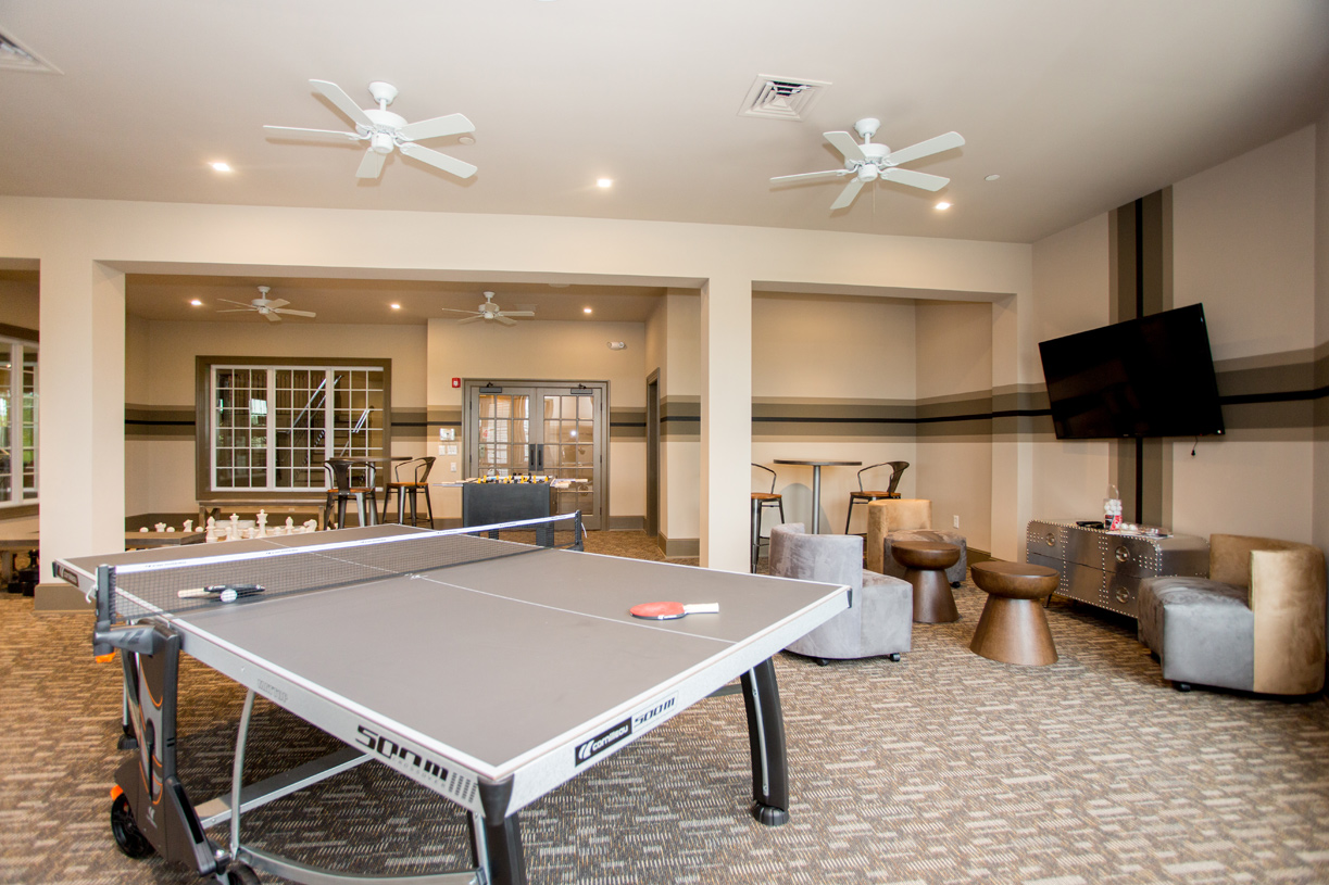 The kids area at the clubhouse is perfect for when the grandchildren are visiting