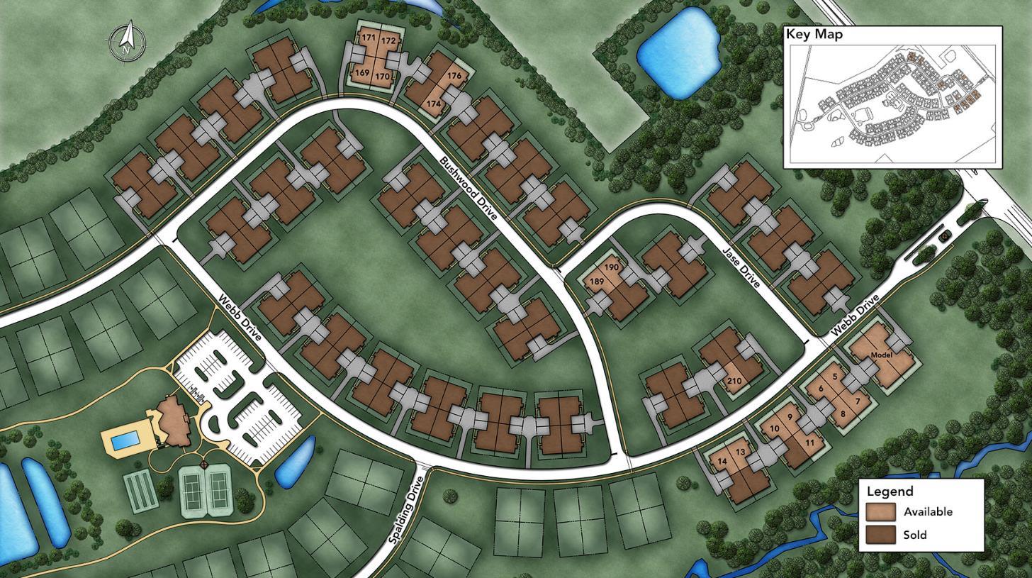 Regency at Hilltown Site Plan