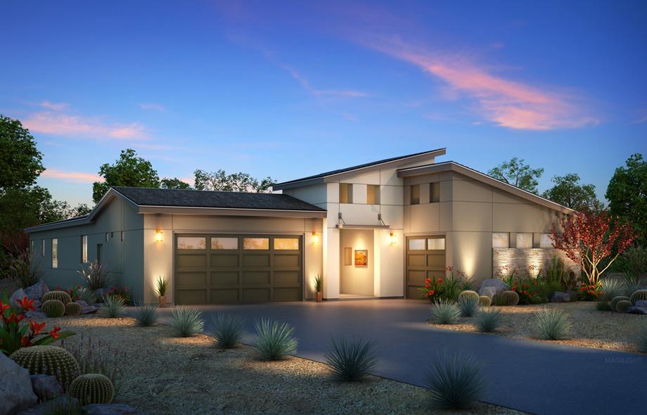 The Fiora Modern Home Design