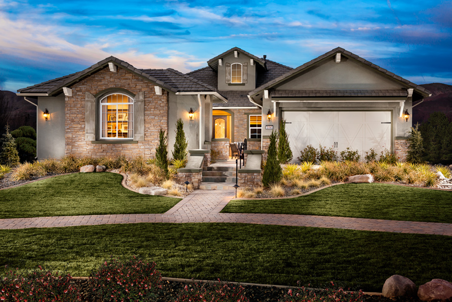 Reno Nv New Homes For Sale Presidio At Damonte Ranch