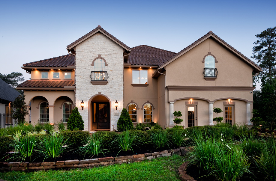 New luxury homes for sale in flower mound tx canyon falls for Texas fine home builders